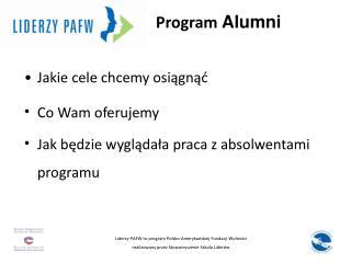 Program  Alumni