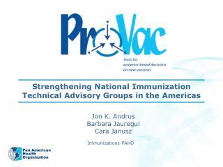 Immunizations-PAHO