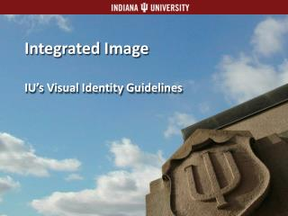 Integrated Image IU's Visual Identity Guidelines