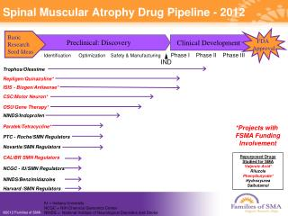 Spinal Muscular Atrophy Drug Pipeline - 2012