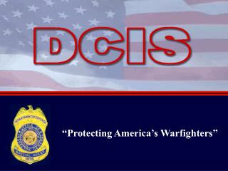 """Protecting America's Warfighters"""