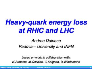 Heavy-quark energy loss at RHIC and LHC