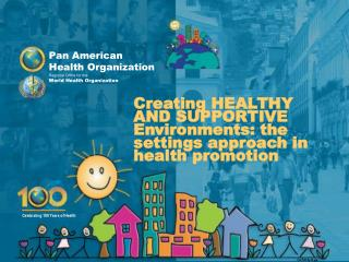 Pan American  Health Organization Regional  Office for the World Health Organization
