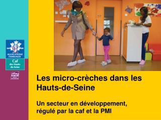Les micro-crèches dans les Hauts-de-Seine Un secteur en développement,