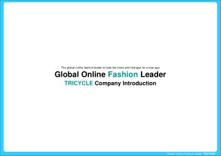 Global Online  Fashion  Leader