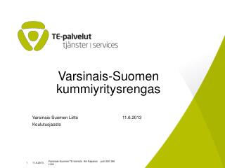 Varsinais-Suomen kummiyritysrengas