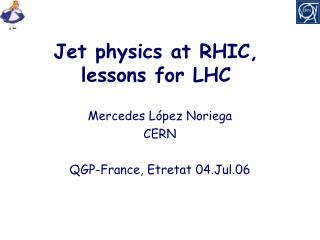 Jet physics at RHIC, lessons for LHC
