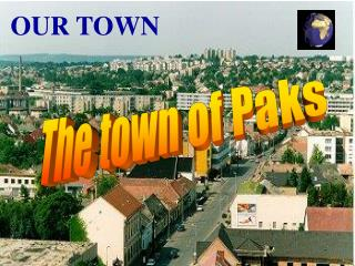 The town of Paks