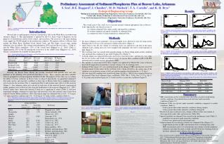 Preliminary Assessment of Sediment  Phosphorus Flux at Beaver Lake, Arkansas