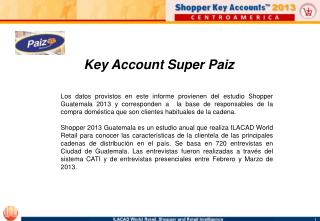 Key Account Super Paiz