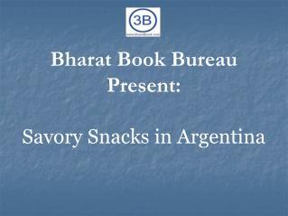 Savory Snacks in Argentina