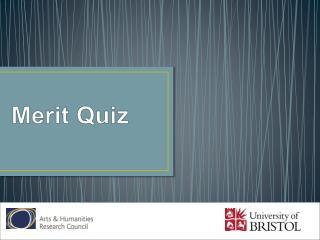 Merit Quiz