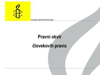 Amnesty International  Slovenije