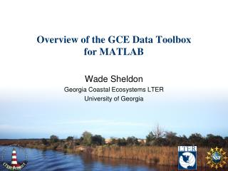 Overview of the GCE Data Toolbox for MATLAB