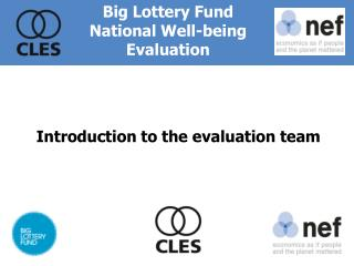 Introduction to the evaluation team