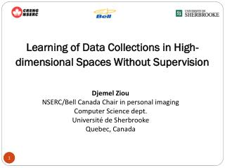 Learning of Data Collections in High-dimensional Spaces Without Supervision