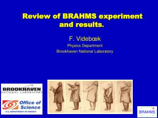 Review of BRAHMS experiment and results .