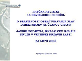 Ljubljana, december 2006