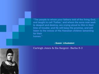 Carleigh Jones & Ilia Sargent- Barba 8-3