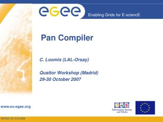 Pan Compiler