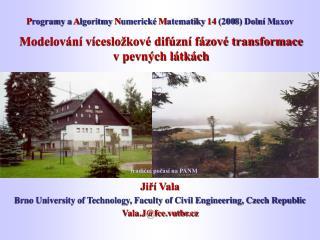 Modelování vícesložkové difúzní fázové transformace v pevných látkách
