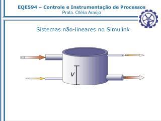 Sistemas n�o-lineares no Simulink