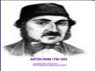ANTON PANN 1796-1854
