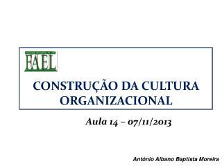 Aula 14 – 07/11/2013