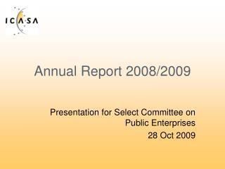 Annual Report 2008/2009