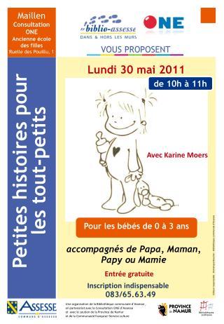 Maillen Consultation ONE Ancienne école des filles Ruelle des Pouillu, 1