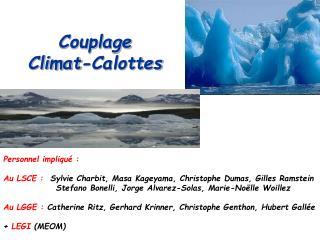 Couplage  Climat-Calottes
