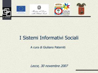 A cura di Giuliano Paterniti