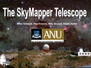 The SkyMapper Telescope