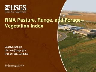 RMA Pasture, Range, and Forage--Vegetation Index