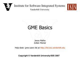 GME Basics