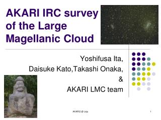 AKARI IRC survey of the Large Magellanic Cloud