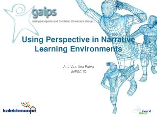 Using Perspective in Narrative Learning Environments