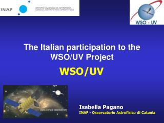 The Italian participation to the WSO/UV Project