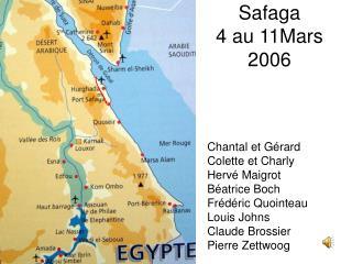 Safaga  4 au 11Mars 2006