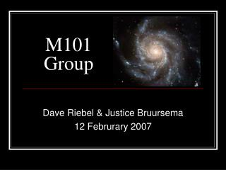 M101  Group