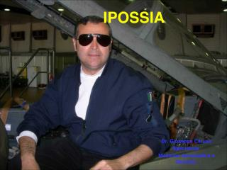 Dr. Giuseppe Caruso Specialista  Medicina Aeronautica e Spaziale
