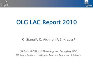 OLG LAC Report 2010