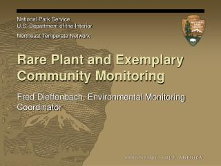 Rare Plant and Exemplary Community Monitoring