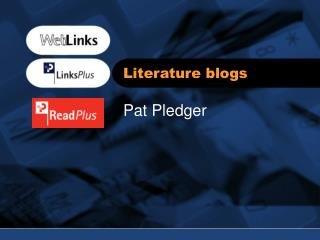 Literature blogs