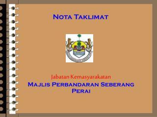Jabatan Kemasyarakatan Majlis Perbandaran Seberang Perai