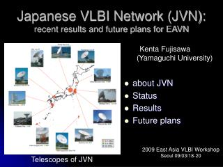 Japanese VLBI Network (JVN): recent results and future plans for EAVN