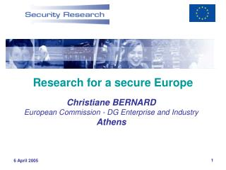 Research for a secure Europe