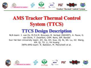 AMS Tracker Thermal Control System (TTCS) TTCS Design Description