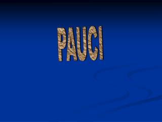 PAUCI