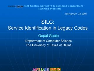 SILC: Service Identification in Legacy Codes